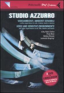 Equilibrifestival.it Studio Azzurro. Videoambienti, ambienti sensibili. Video and sensitive enviroments. DVD. Ediz. bilingue. Con libro Image