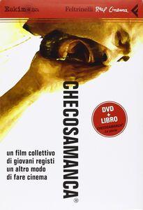 Foto Cover di Checosamanca®. DVD. Con libro, Libro di  edito da Feltrinelli