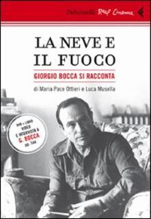 Squillogame.it La neve e il fuoco. Ritratto di Giorgio Bocca. DVD. Con libro Image