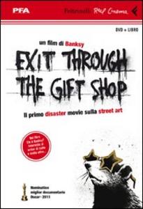 Libro Exit through the gift shop. DVD. Con libro Banksy