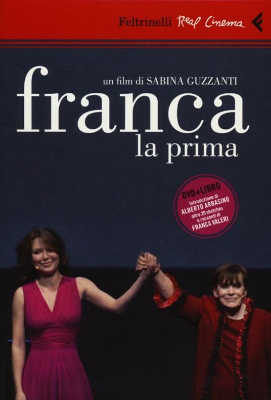 Franca la prima. DVD. Con libro - Sabina Guzzanti - copertina