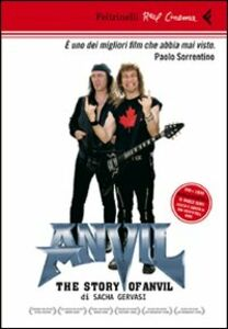 Libro Anvil! The story of Anvil. DVD. Con libro Sacha Gervasi