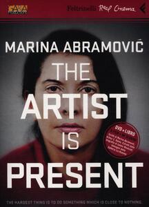 Marina Abramovich. The artist is present. DVD. Con libro - Matthew Akers - copertina