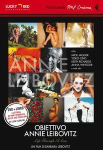 Obiettivo Annie Leibovitz. DVD. Con libro - Barbara Leibovitz - copertina