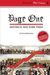 Page one. Dentro il New York Times. DVD. Con libro