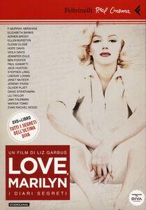 Foto Cover di Love, Marilyn. I diari segreti. DVD. Con libro, Libro di Liz Garbus, edito da Feltrinelli