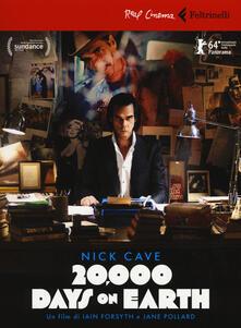 Winniearcher.com Nick Cave. 20.000 days on earth. DVD. Con libro Image
