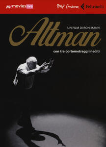 Altman. DVD. Con libro - Ron Mann - copertina