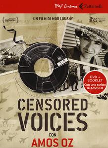 Libro Censored voices. Con Amos Oz. DVD. Con libro Mor Loushy