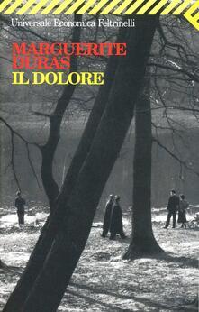 Il dolore - Marguerite Duras - copertina