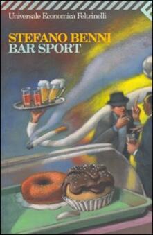 Bar Sport - Stefano Benni - copertina