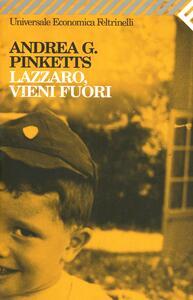Lazzaro, vieni fuori - Andrea G. Pinketts - copertina