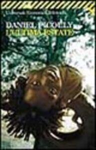 Libro L' ultima estate Daniel Picouly