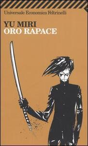 Oro rapace - Miri Yu - copertina