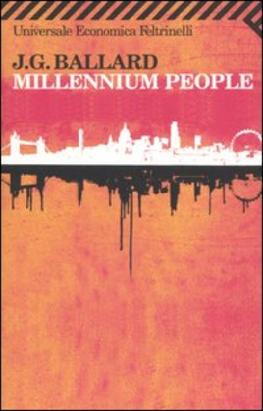 Millennium people - James G. Ballard - copertina