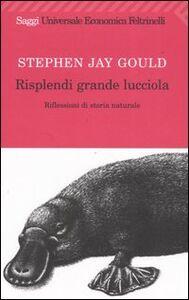 Libro Risplendi grande lucciola. Riflessioni di storia naturale Stephen Jay Gould