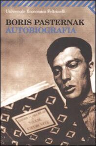 Autobiografia - Boris Pasternak - copertina