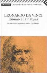 Libro L' uomo e la natura Leonardo da Vinci