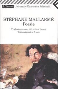 Libro Poesie. Testo francese a fronte Stéphane Mallarmé
