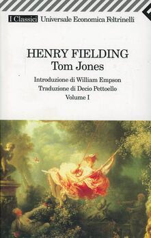 Tom Jones - Henry Fielding - copertina