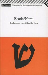 Esodo/Nomi - copertina