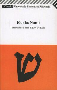 Libro Esodo/Nomi
