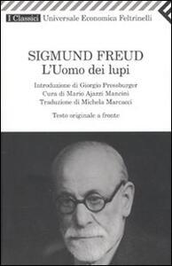 L' uomo dei lupi. Testo tedesco a fronte - Sigmund Freud - copertina