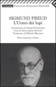 Libro L' uomo dei lupi. Testo tedesco a fronte Sigmund Freud