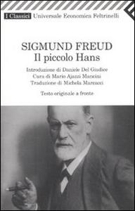 Libro Il piccolo Hans. Testo tedesco a fronte Sigmund Freud