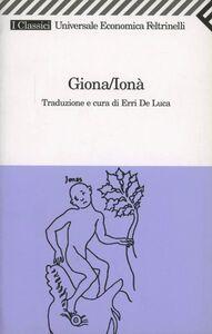 Libro Giona/Ionà