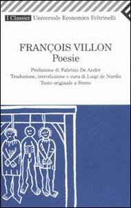 Libro Poesie. Testo originale a fronte François Villon