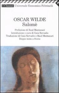 Salomé. Testo francese e inglese a fronte - Oscar Wilde - copertina