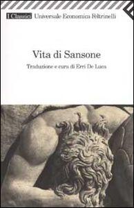 Libro Vita di Sansone