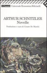 Libro Novelle Arthur Schnitzler