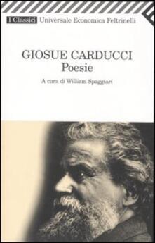Poesie - Giosuè Carducci - copertina