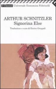 Libro Signorina Else Arthur Schnitzler