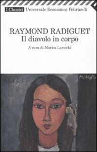 Il diavolo in corpo - Raymond Radiguet - copertina