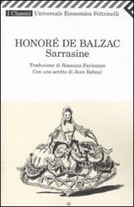 Libro Sarrasine Honoré de Balzac