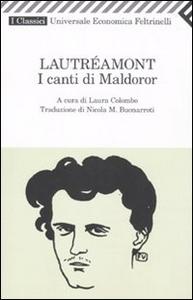 Libro I canti di Maldoror Isidore Lautréamont Ducasse
