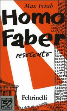Parcoarenas.it Homo faber. Resoconto. Ediz. speciale Image