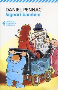 Libro Signori bambini Daniel Pennac