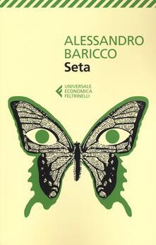 Seta - Alessandro Baricco - copertina
