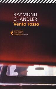 Vento rosso e altri racconti - Raymond Chandler - copertina