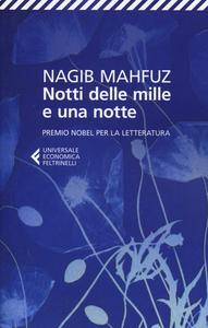 Libro Notti delle mille e una notte Nagib Mahfuz