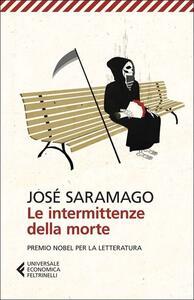 Le intermittenze della morte - José Saramago - copertina