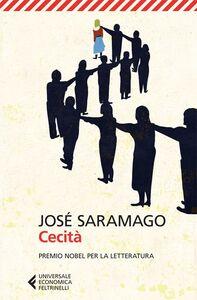 Libro Cecità José Saramago