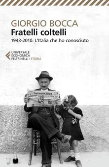 Vitalitart.it Fratelli coltelli. 1943-2010. L'Italia che ho conosciuto Image
