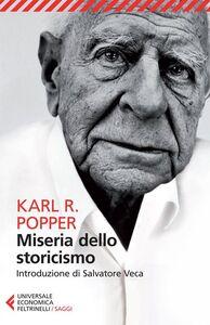 Libro Miseria dello storicismo Karl R. Popper