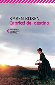 Libro Capricci del destino Karen Blixen