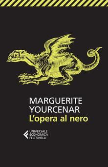 L' opera al nero - Marguerite Yourcenar - copertina